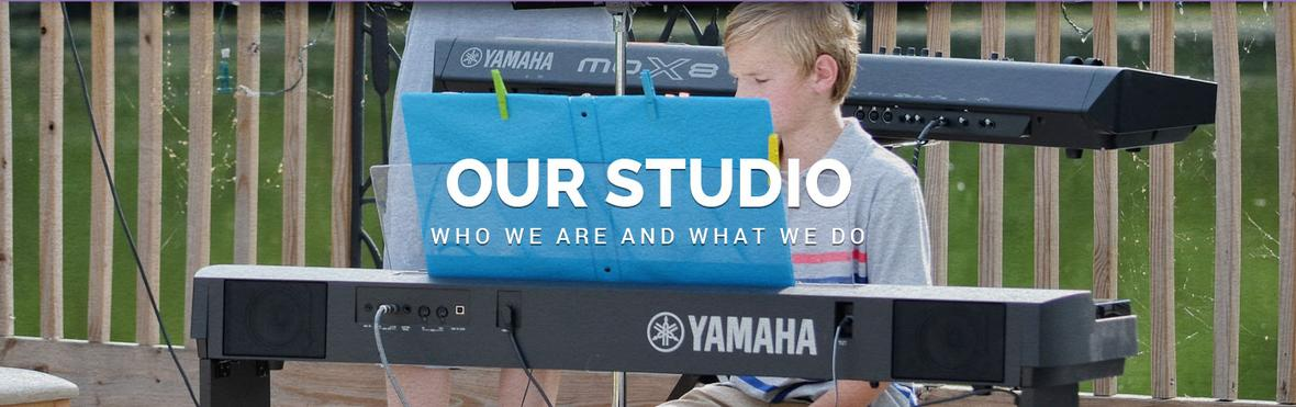 Banner picture for the Our Studio page for Key Players Piano Studio
